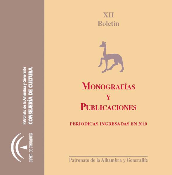 Boletín de monografías y publicaciones periódicas 2010