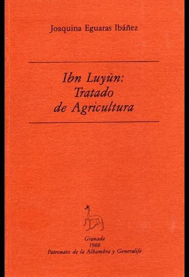 N.° 2. Ibn Luyún: tratado de agricultura