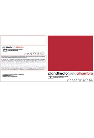 Avance del Plan Director 2007-2015