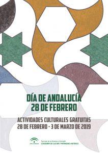 Cartel Día de Andalucía 2019