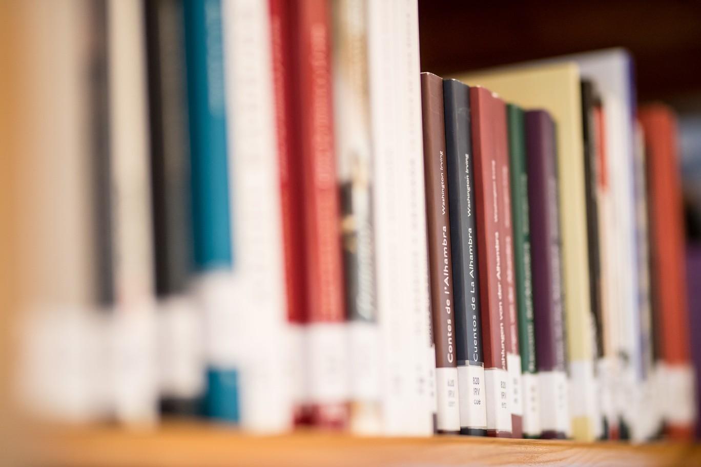 Biblioteca en la Torre de la Justicia