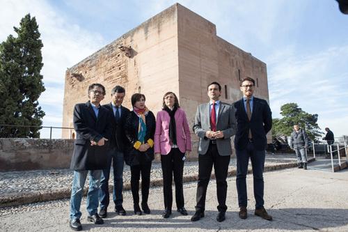 Visitantes de la Alhambra