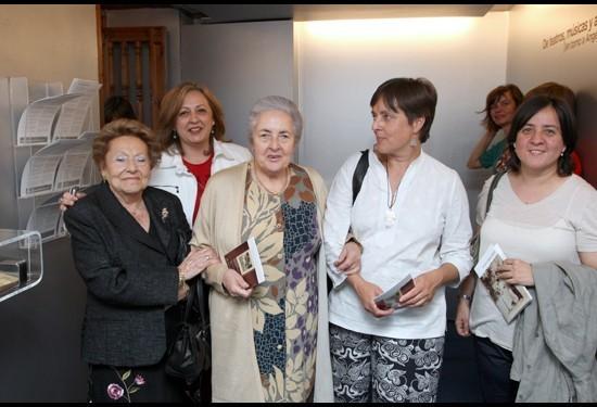 Visitantes en el Museo Ángel Barrios