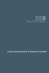 Memoria de actividades:2008