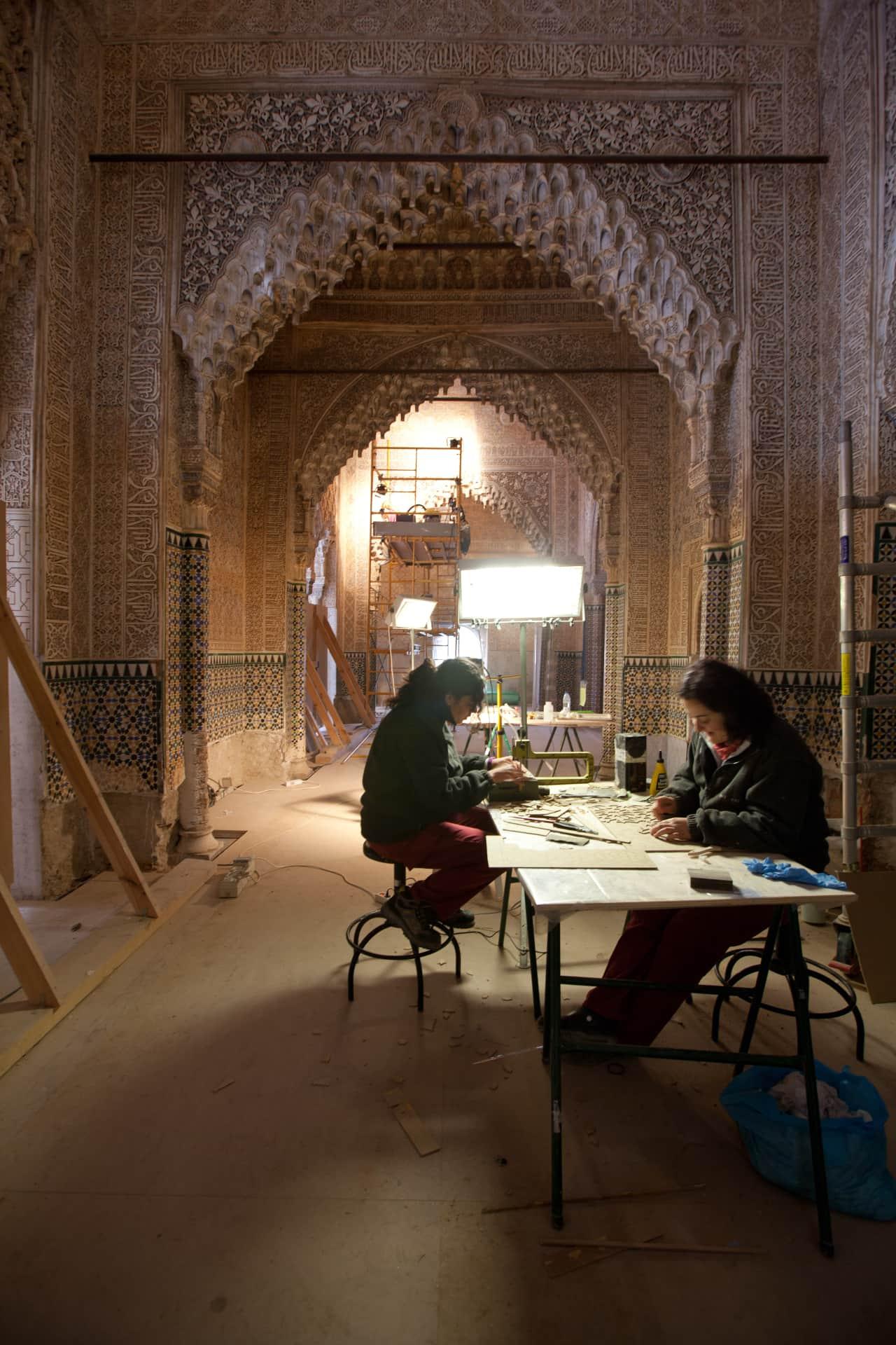 Restauración de la Sala de Los Reyes