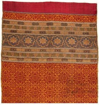 Una cortina nazarí: El tejido en los interiores palatinos