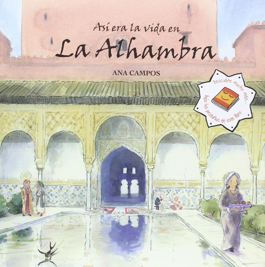 """Portada """"Así era la vida en la Alhambra"""""""
