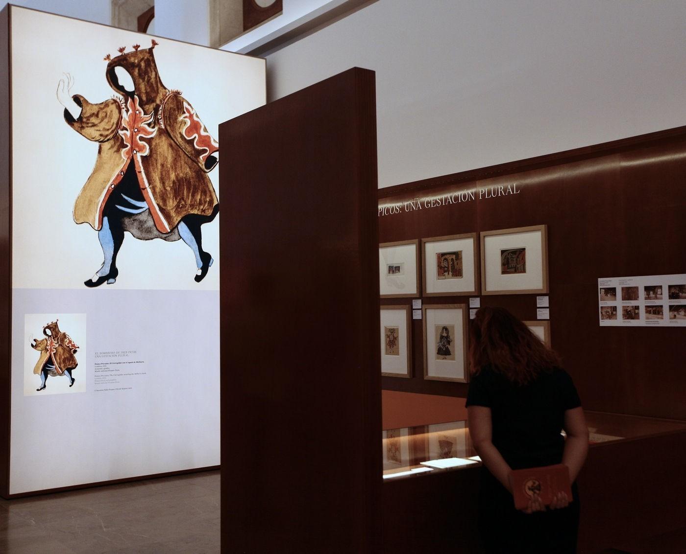 El corregidor con el capote del molinero de Pablo Picasso. Fotografía de María de la Cruz