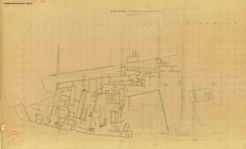 El Secano y Tenería histórico