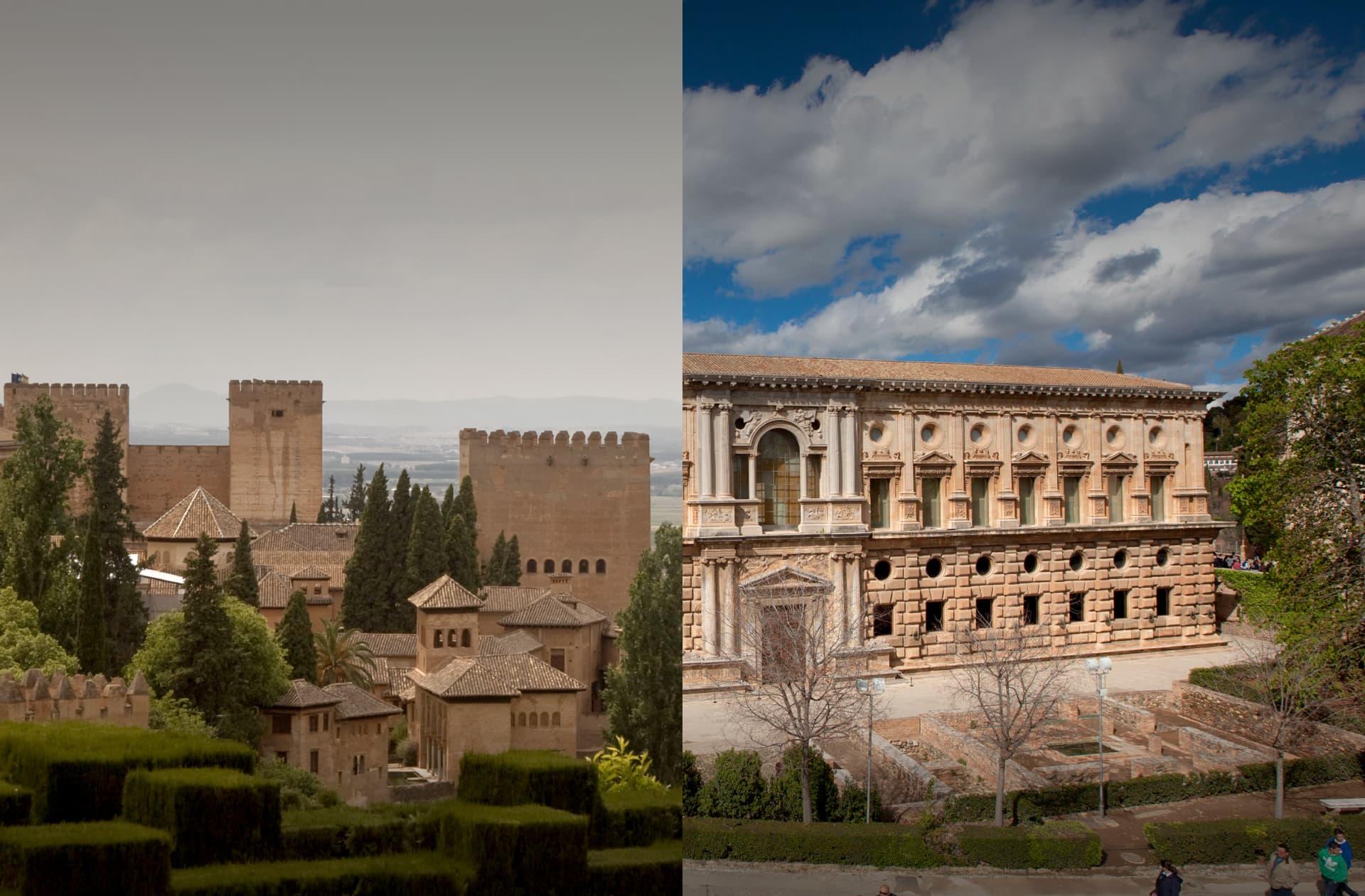 Paisaje de la Alhambra