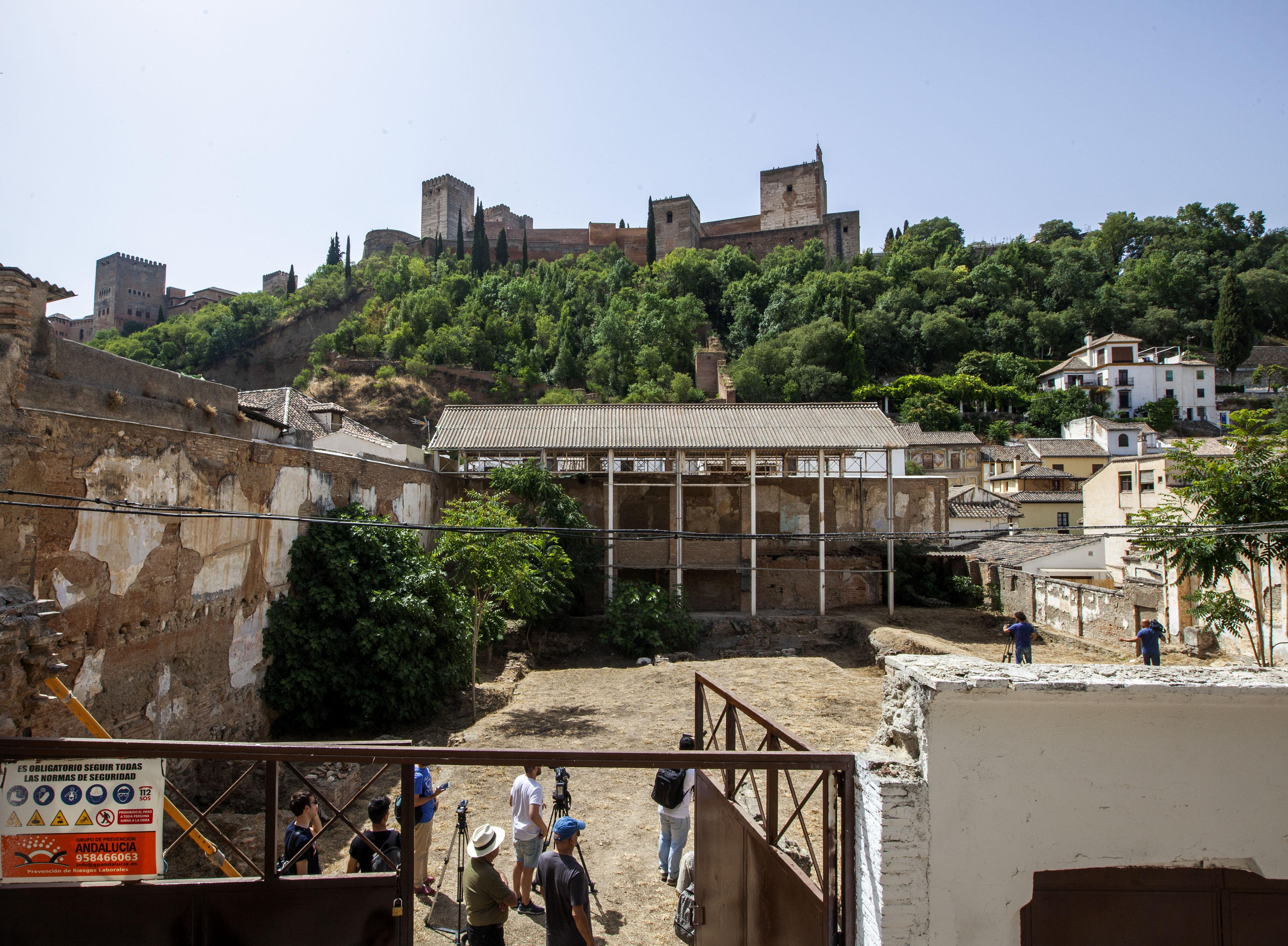 La Alhambra licita las obras de consolidación y restauración del Maristán