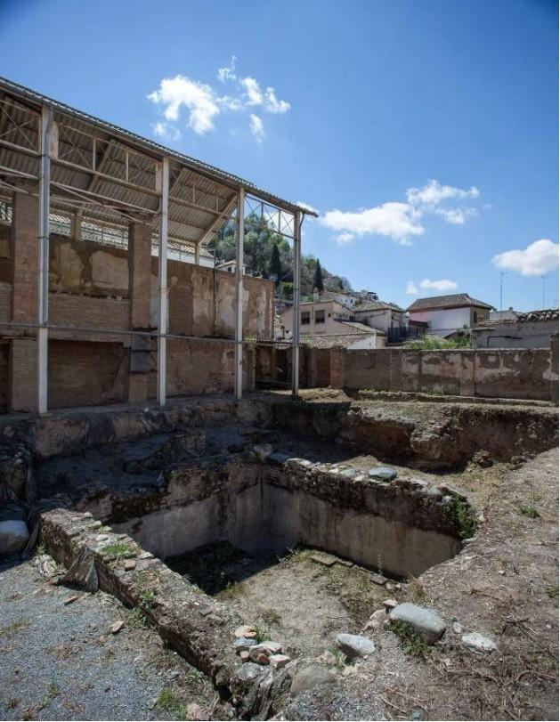 Proyecto de restauración del pórtico sur del edificio Maristán - actual