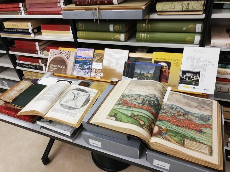 Biblioteca del Patronato de la Alhambra y Generalife
