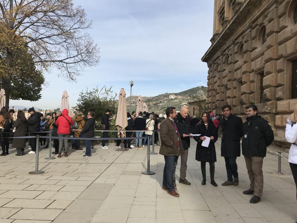 La Alhambra habilitará un único acceso a Palacios Nazaríes por la necesidad de acometer una obra de emergencia