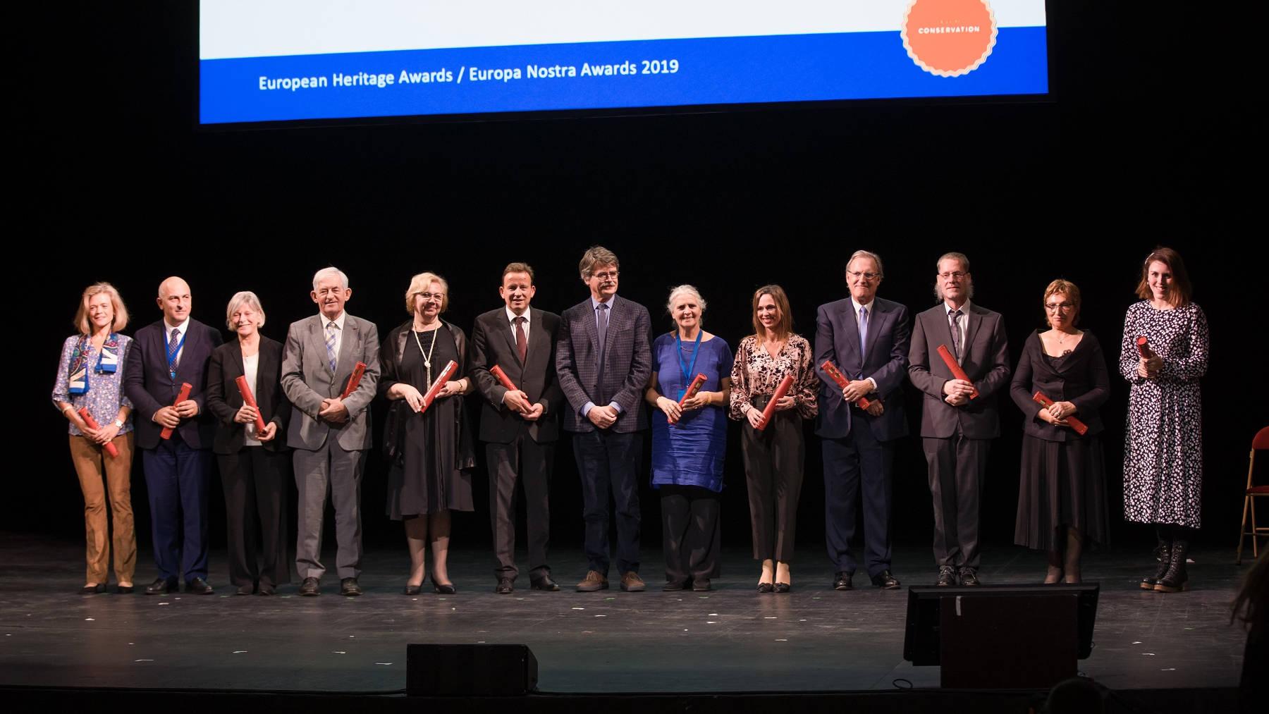La Alhambra de Granada triunfa en París con dos Premios Europa Nostra