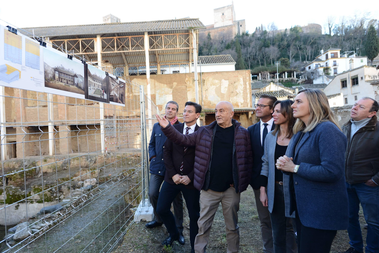 La Alhambra inicia las obras del Maristán