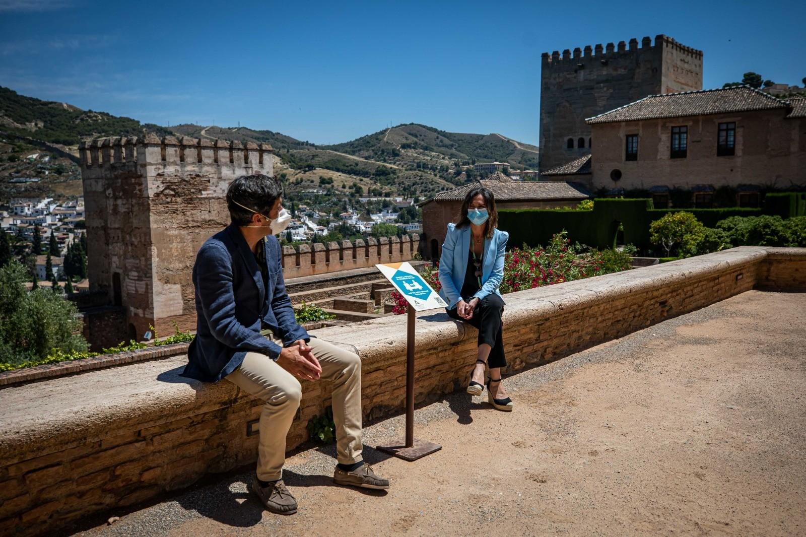 La Alhambra realiza una veintena de actuaciones durante su cierre al público