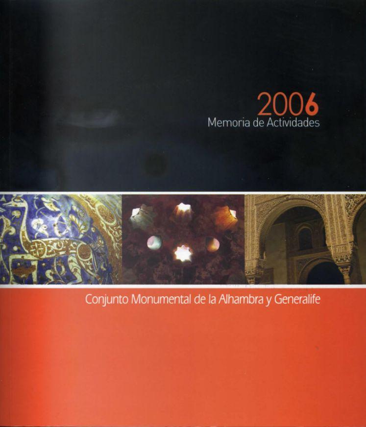 Memoria de actividades:2006