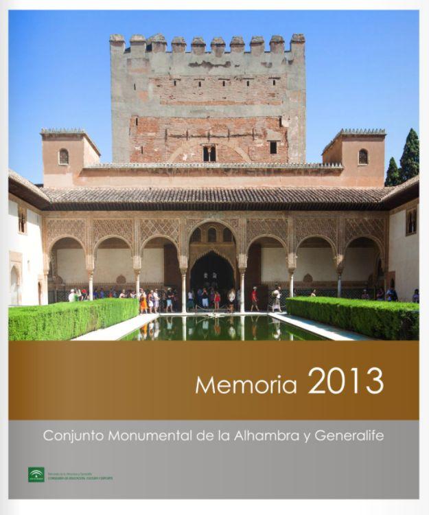 Memoria de actividades:2013