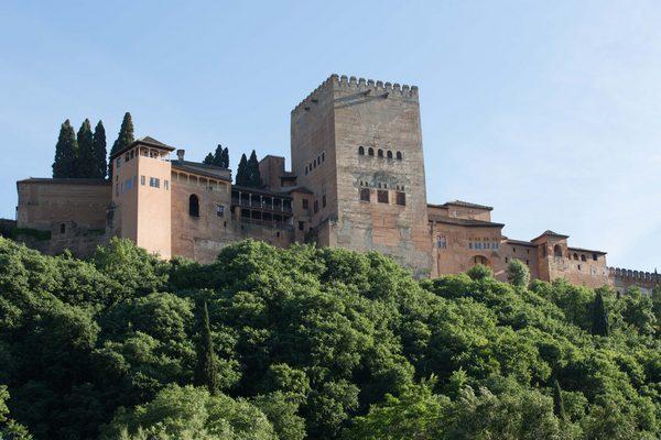 Vista de la Torre de Comares