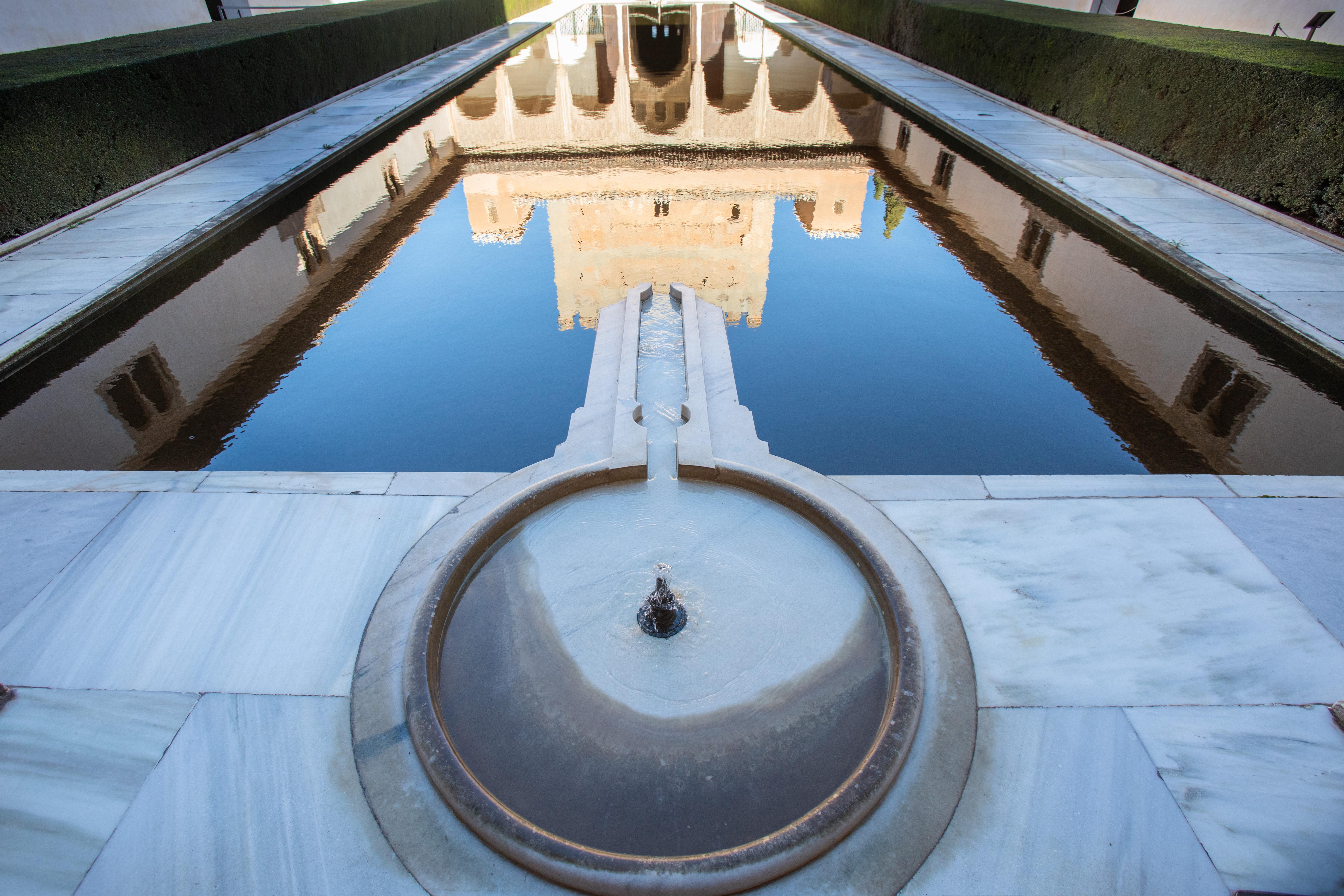 La Alhambra se suma a la celebración del Día Mundial del Agua