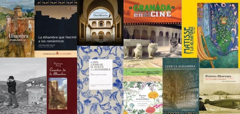 12 libros para sentir la Alhambra
