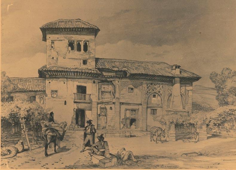 Los habitantes de la Alhambra romántica
