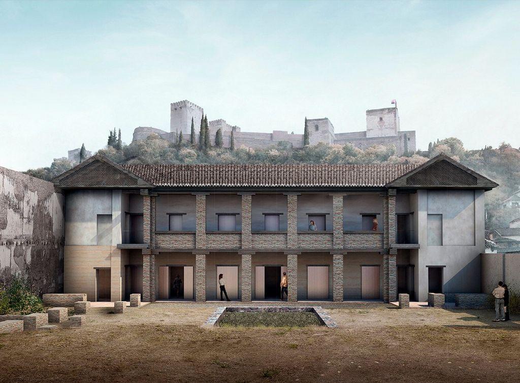 El Maristán nazarí de Granada (2). Proyecto de restauración del Pórtico Sur