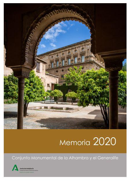 Memoria de actividades: 2020
