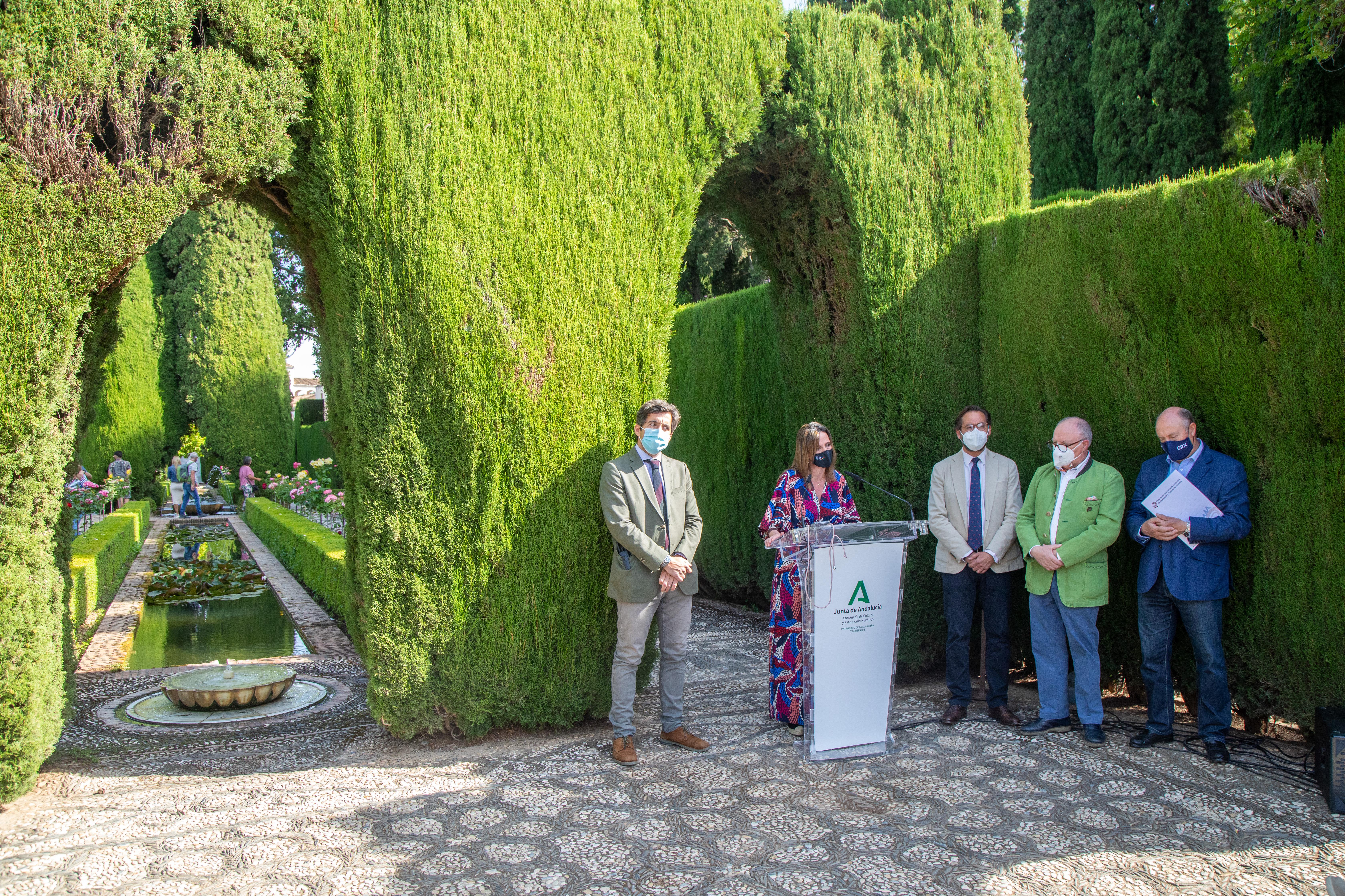 La Alhambra impulsa 'Septiembre en el Generalife' para apoyar a artistas y promotores