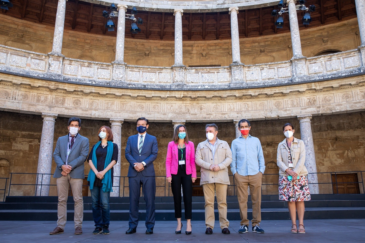 La Alhambra colabora en un largometraje que narra el proceso de construcción de sus palacios