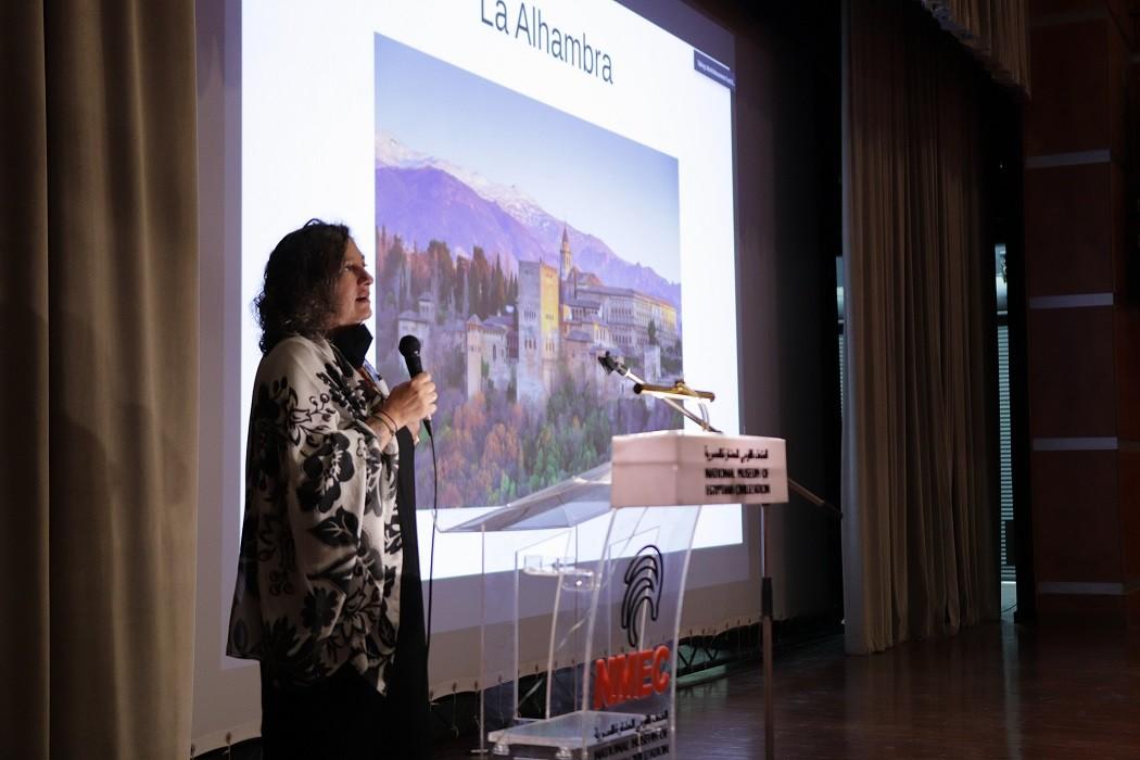 """La Alhambra comparte en El Cairo su metodología de restauración, """"un referente a nivel mundial"""""""